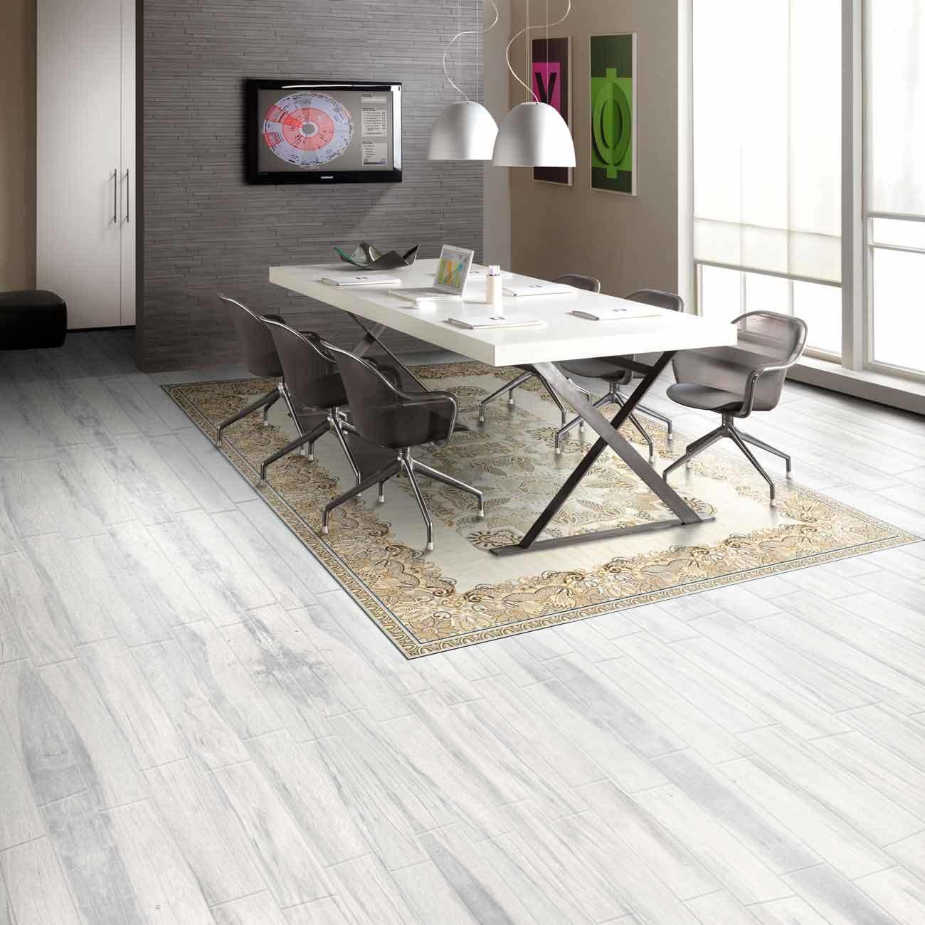 hot item inkjet glazed polished ceramic tile with wood surface glazed floor ceramic tile rustic wood look tile wooden porcelain tile