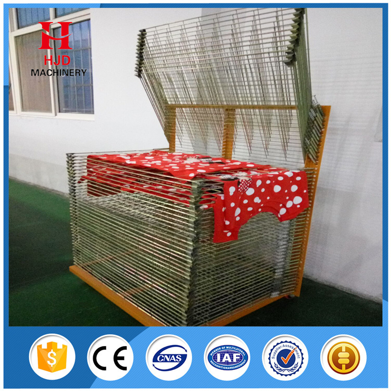 hot item screen printing plate clothes drying racks with 50 layers