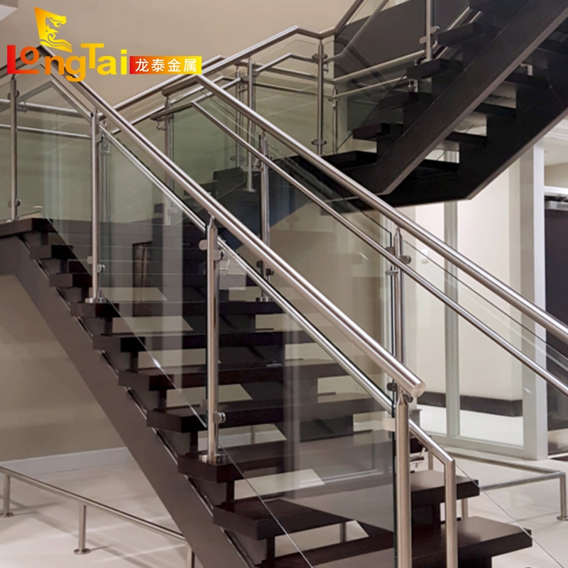 China Indoor Glass Handrail Stair Railing Balustrade Stainless | Stainless Steel Staircase Railing With Glass | Thin Glass | Stairway | Tempered Glass | Handrail | Banister