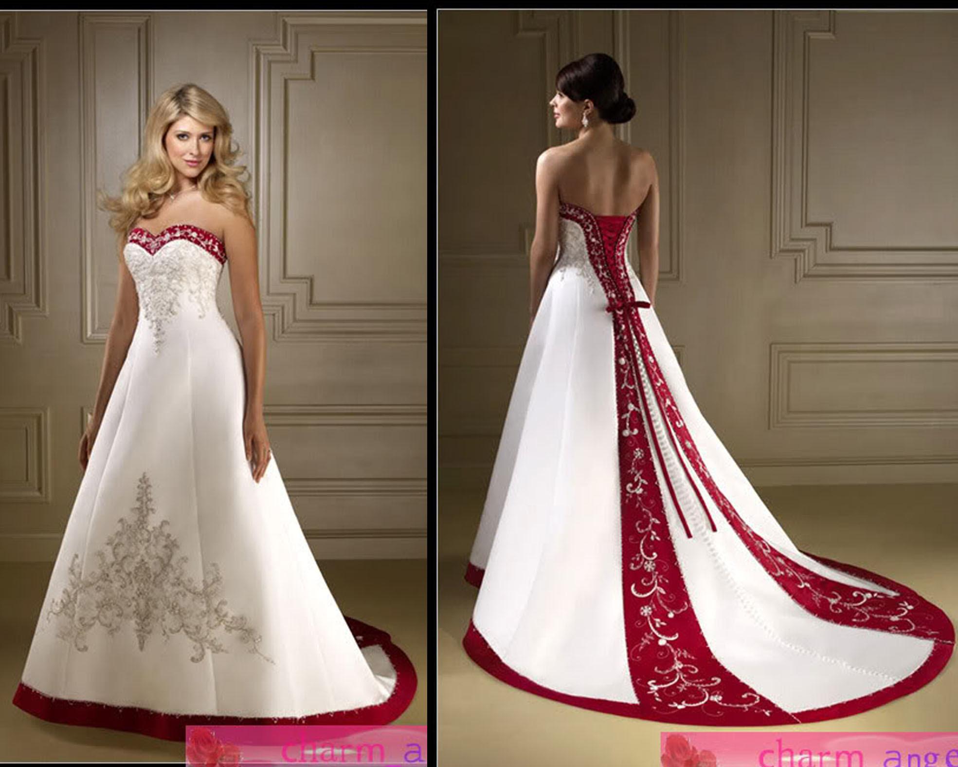 China Wedding Dress (RS-055)