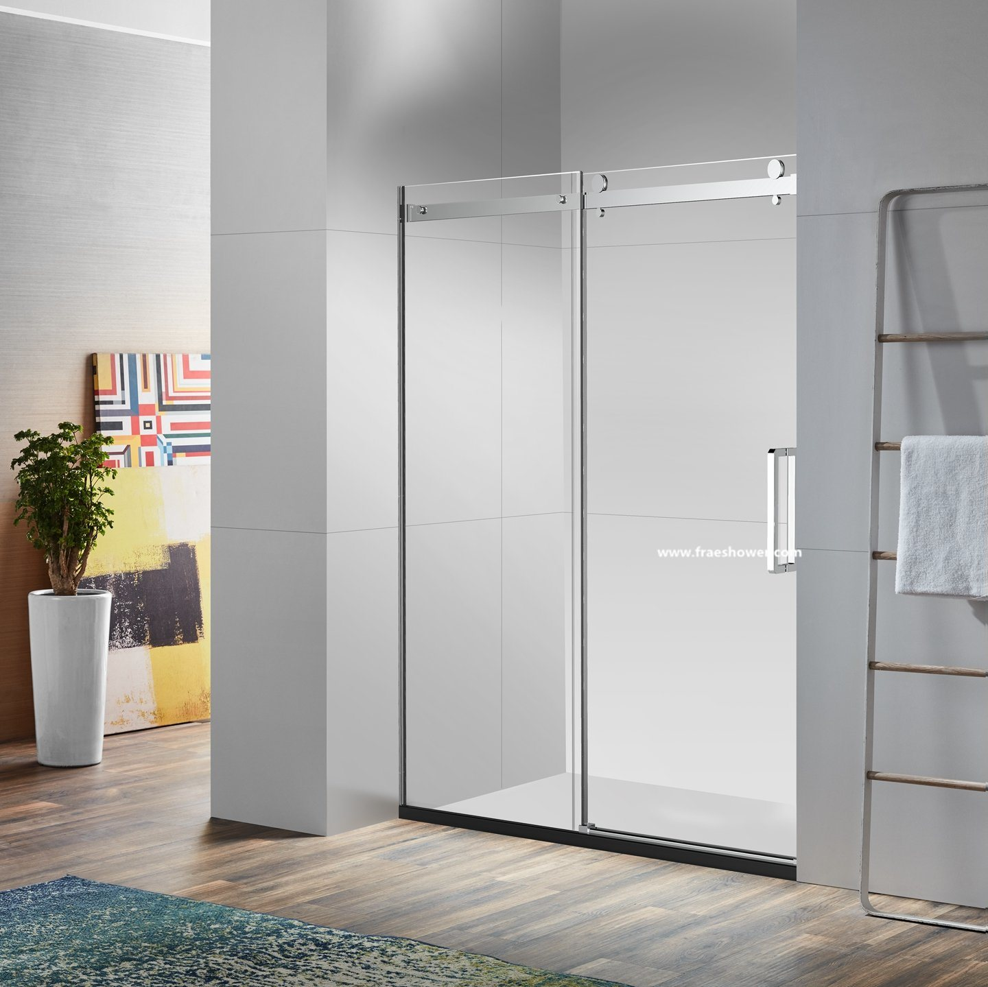 Hot Item Soft Close Shower Doors With Frameless