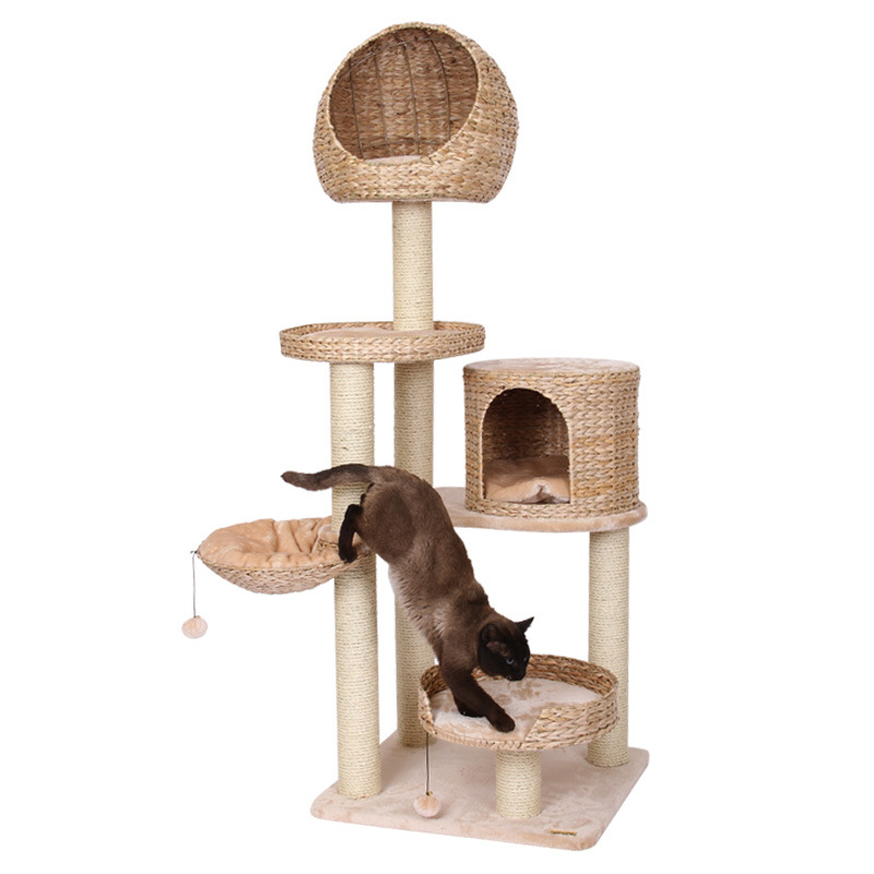 China Kd Packing With Installation Instructions 7 Layers Cat Climbing Tree China Cat Climbing Tree And Cat Tree House Price