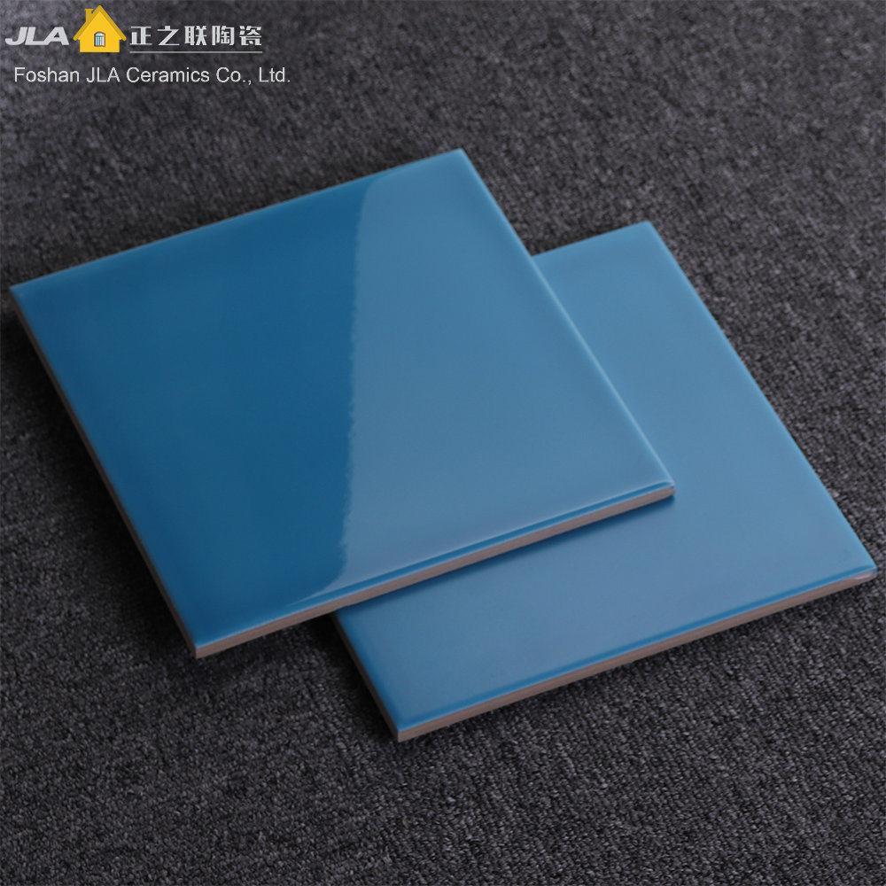 hot item 8x8inch 20x20cm blue discontinued ceramic floor tile lowes floor tiles for kitchen bathroom