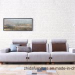 China Living Room Leisure Style White Fabric Sofa Set China Sofa Chair Indoor Furniture