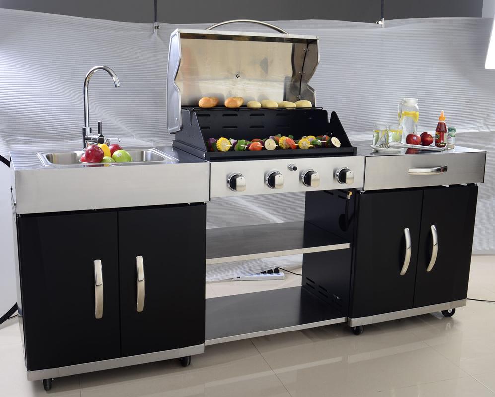main burner outdoor bbq kitchen