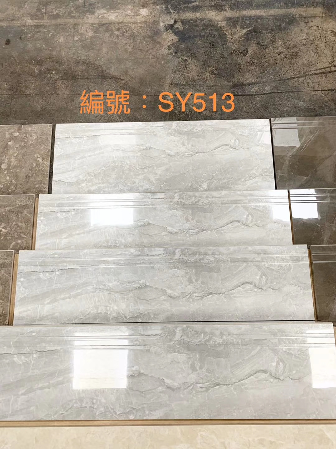 China Newest Design Stair Tile For Home Decoration Photos | Stairs Tiles Design For Home | Readymade Staircase | Duplex House | Style Kerala | Railing | Porcelain
