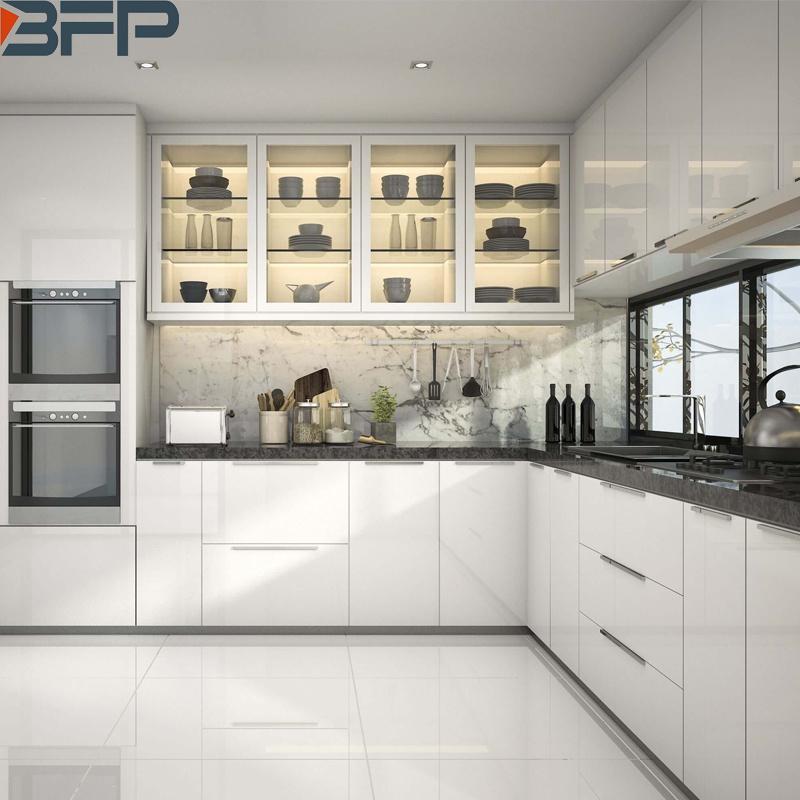 China 2021 Kitchen Design Trends L-Shaped Modern Kitchen ...