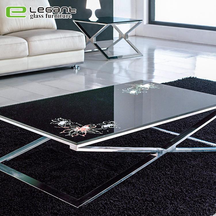 top glass coffee table
