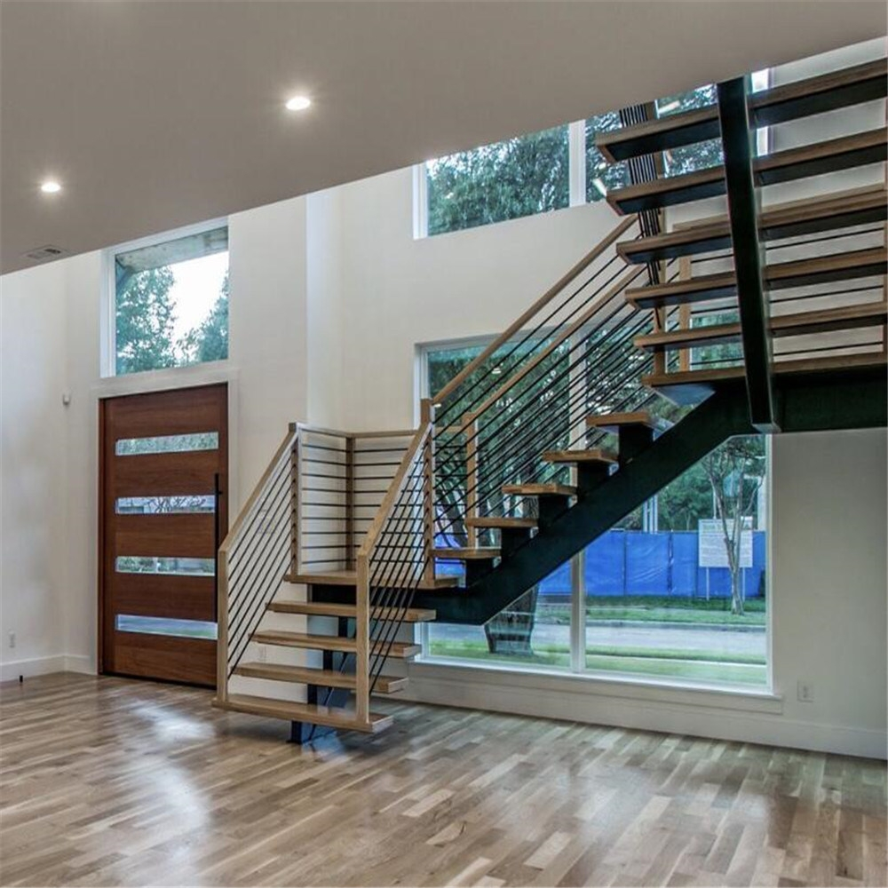 China Outstanding Mid Century Modern Staircase Designs China | Mid Century Modern Stair Handrail | Wrought Iron | Basement | Bannister | Modern Style | Contemporary Curved Staircase