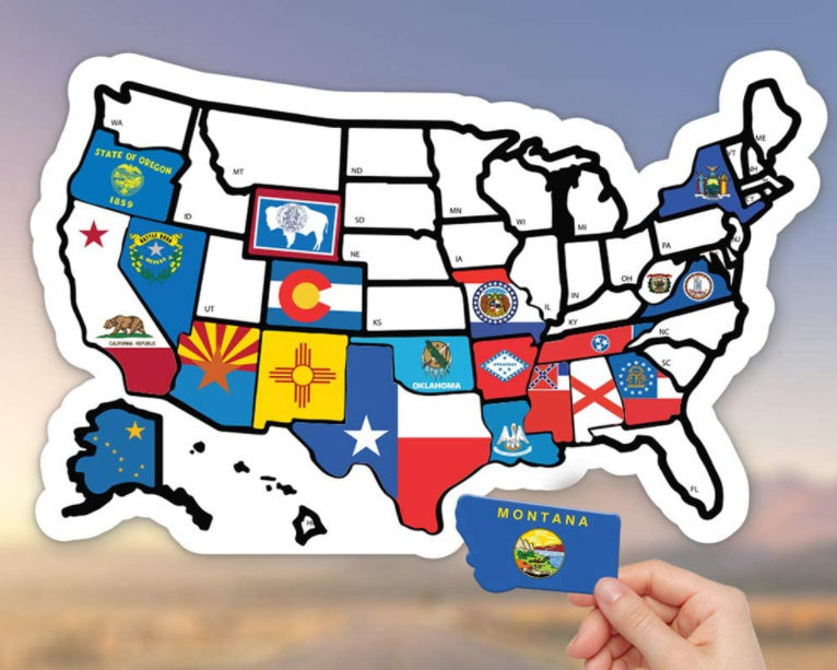 But while central park may be the most famous of urban parks, that doesn't mean it's the only one worth. China Rv State Sticker Travel Map Usa States Visited Decal United States Non Magnet Road Trip Window Stickers China Us States Map And Trailer Accessories Price