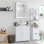China Modern Furniture Home Bathroom Mirror Cabinet Aluminium Frame Medicine Cabinet For Adjustable Shelf Photos Pictures Made In China Com