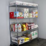 Adjustable 4 Tiers Restaurant Kitchen Equipment Shelving Chrome Metal Food Storage Racking China Restraurant Kitchen Shelving Storage Racking Made In China Com