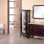 China Ceramic Basin Hot Sell Solid Wooden Bathroom Vanity With Side Cabinet China Bathroom Cabinet Bathroom Furniture