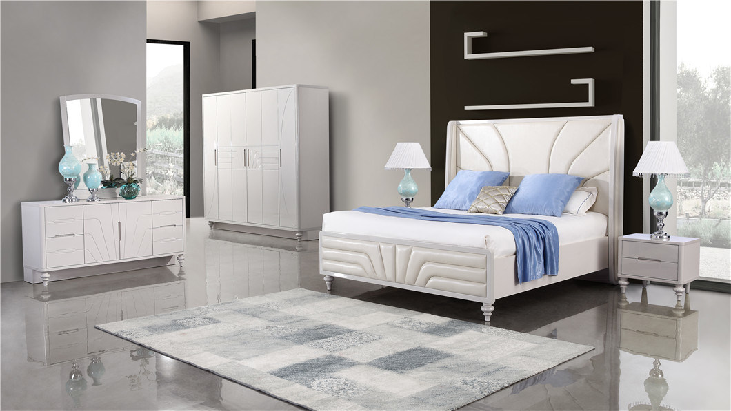 hot item home furniture luxury modern bedroom furniture king size bedroom sets