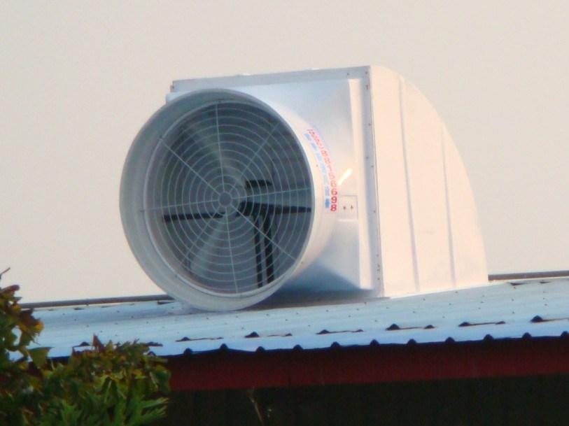 industrial roof ventilation fan