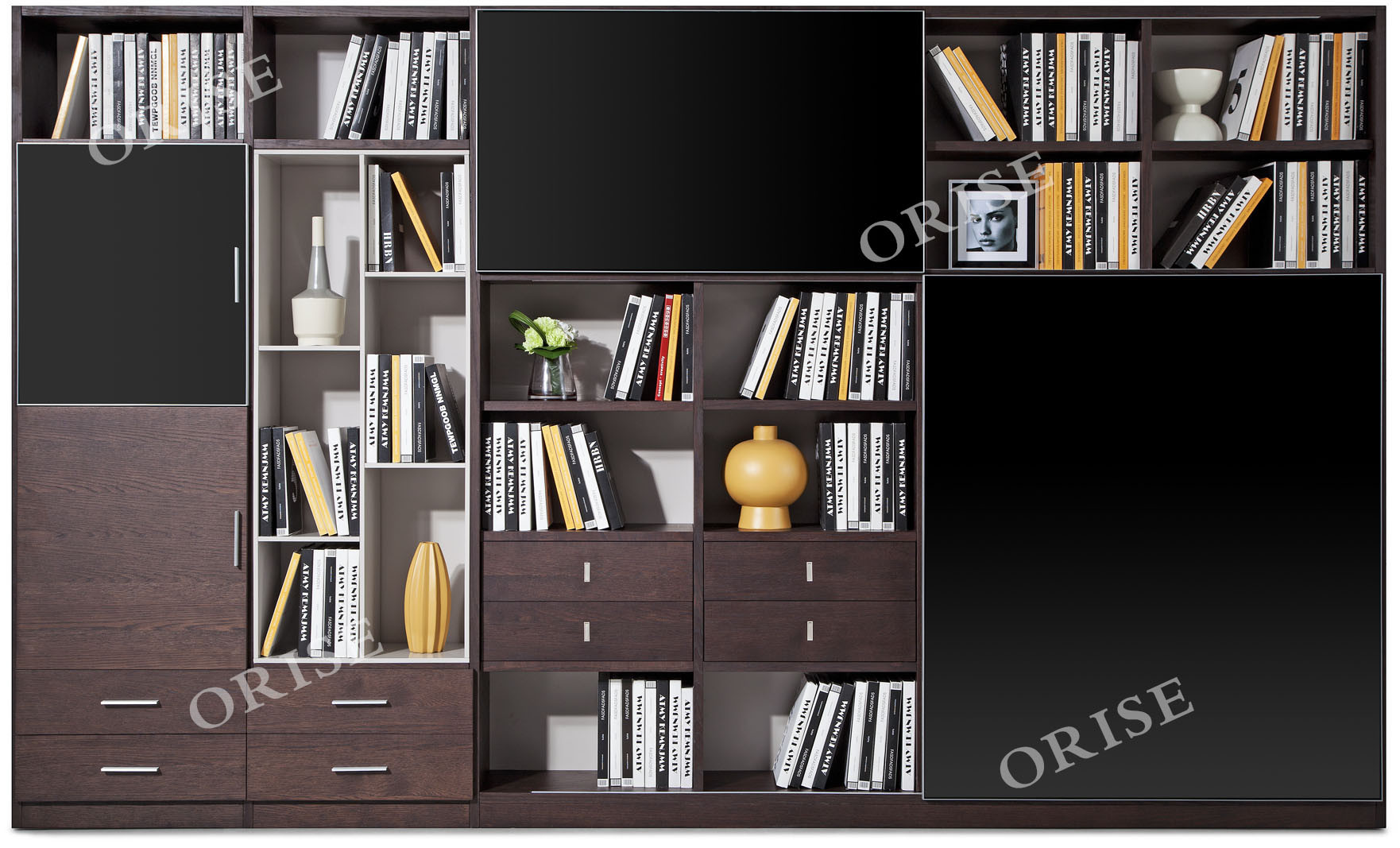 China Contemporary Home Office Furniture Oak Wood Bookcase China Home Office Furniture Office Furniture