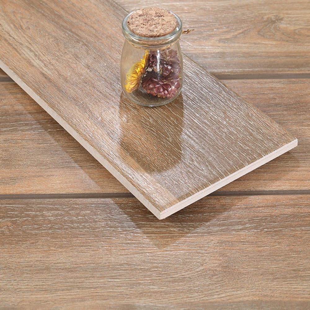 china hot sale rectangle wood look tile