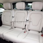 China Benz Luxury V Class Bench Seat In Black And Cream Color China Modified Seat From Benz Car 100 Benz Original Seat