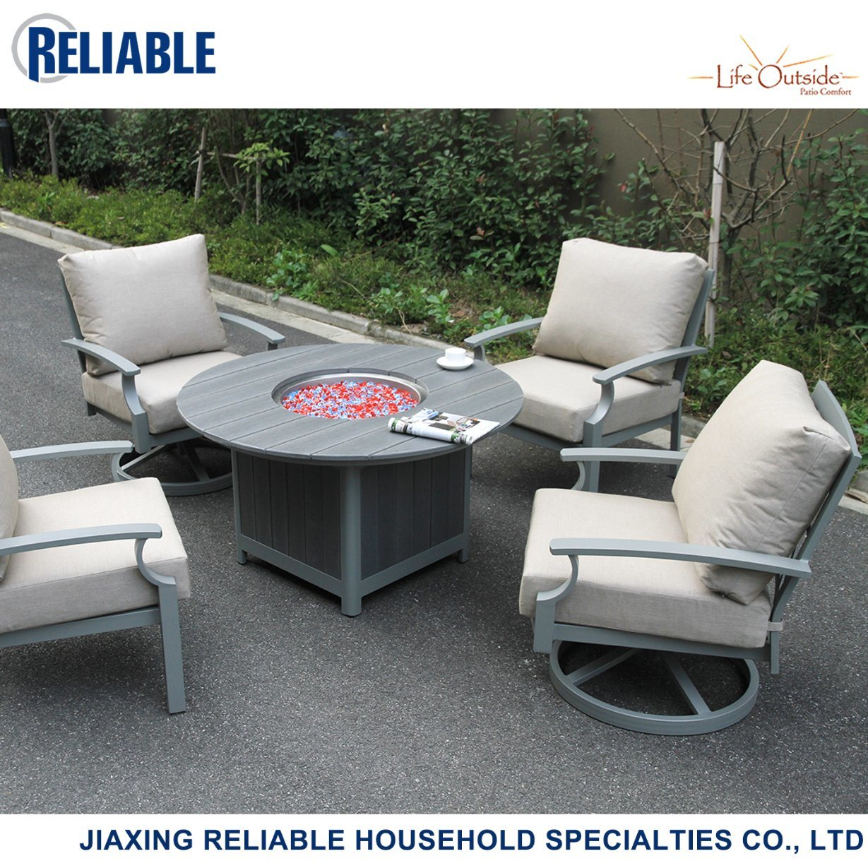 china cast aluminum fire pit chat group