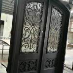 China Fancy Security Custom Iron Doors Front Exterior Photos Pictures Made In China Com