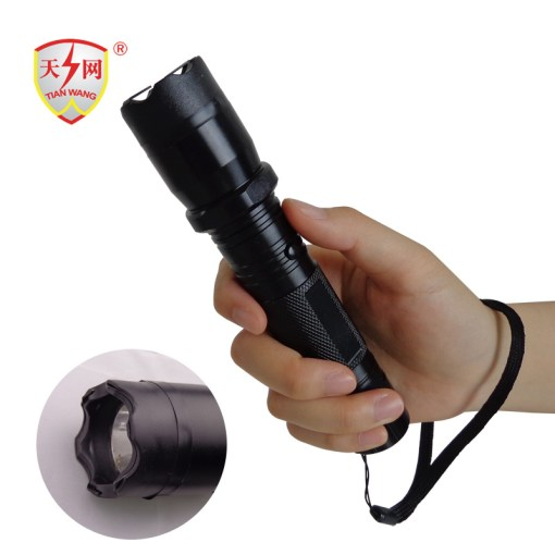 China Tactical Gear Electric Taser Flashlight with Nylon Holster     Tactical Gear Electric Taser Flashlight with Nylon Holster