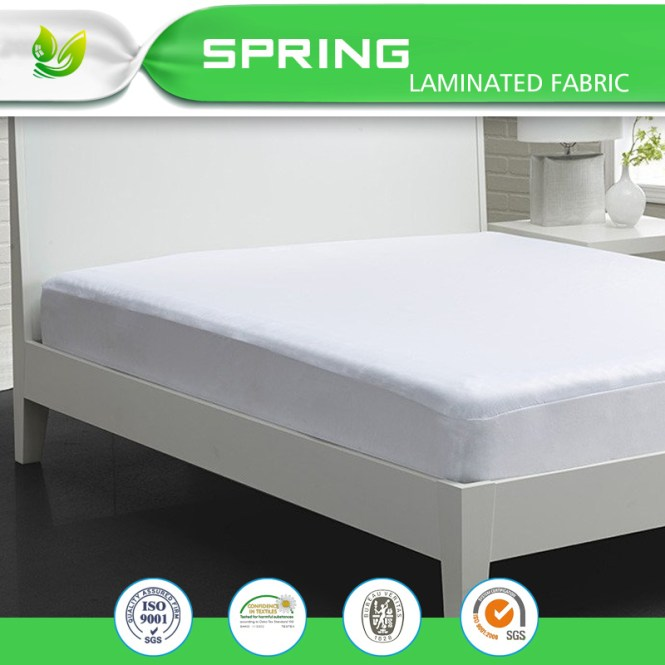 China Fits Mattress Soft Touching Cotton Terry Deep Pocket Protector With Life Time Warranty Waterproof Fabric Encat