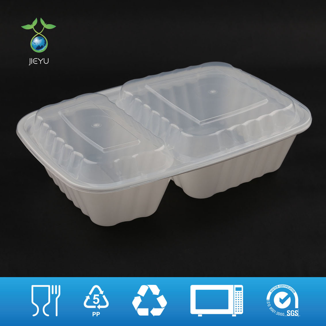 china disposable pp5 plastic food