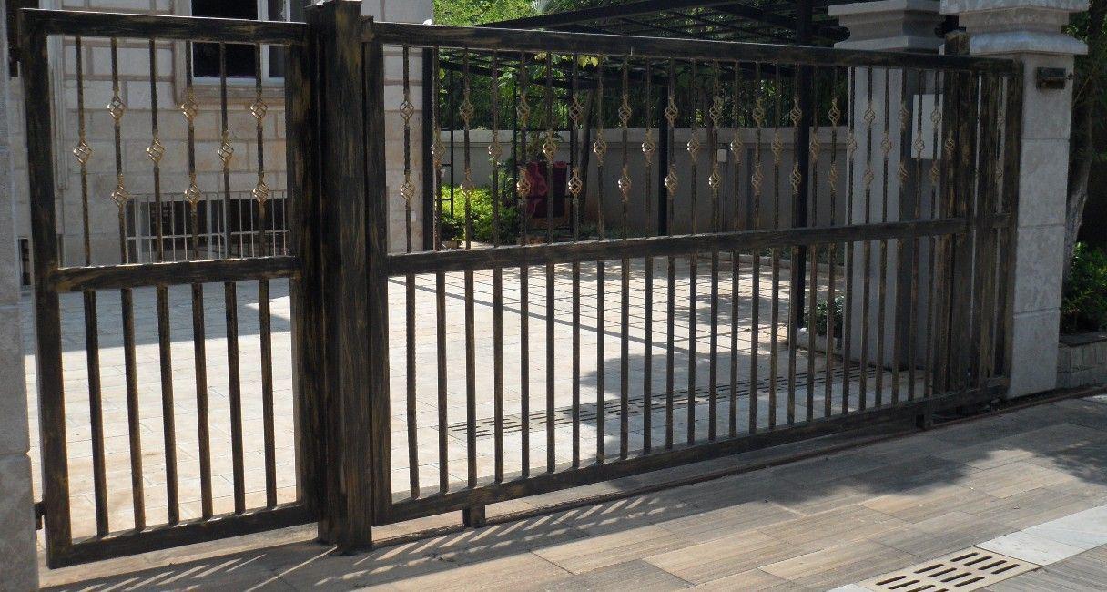 China House Iron Gate Design / Steel Sliding Gate ... on Iron Get Design  id=11474
