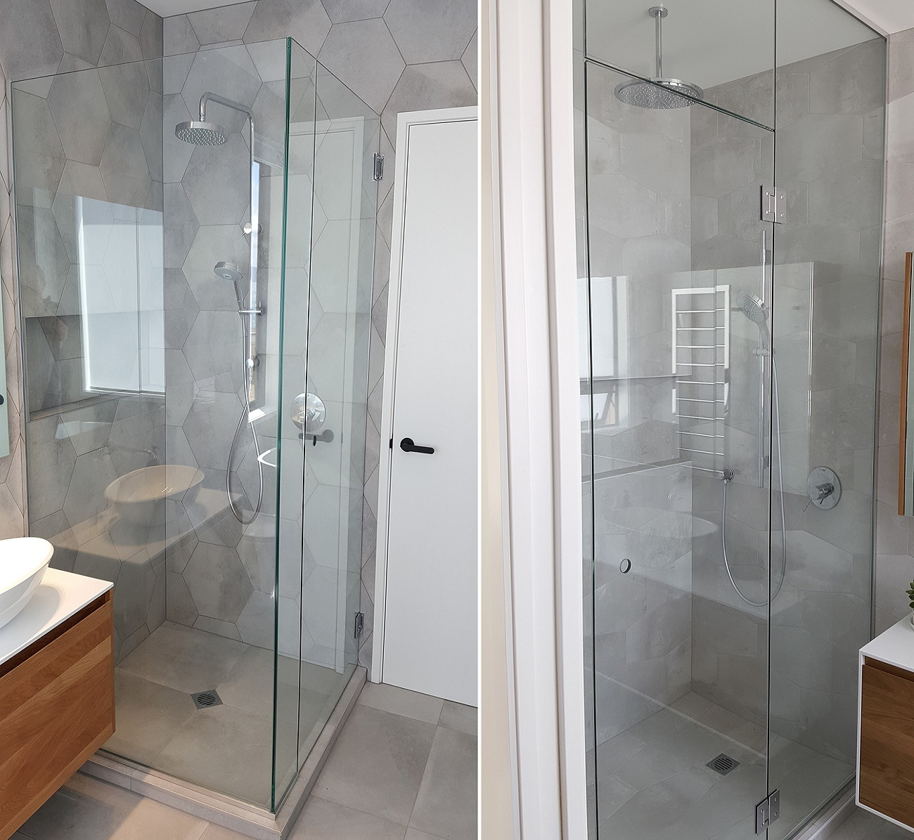 China Supplier Frameless Modern Glass Panel Door Bathroom