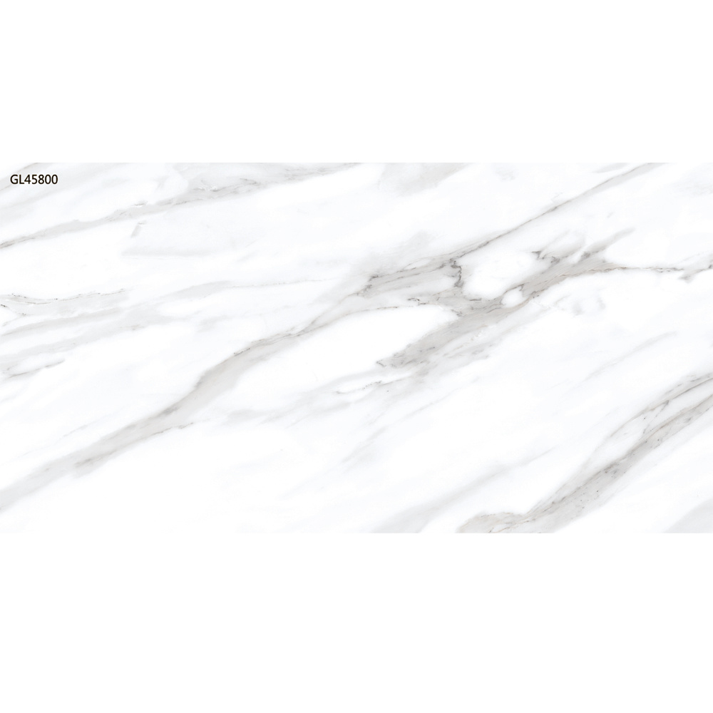 carrara white marble porcelain tile