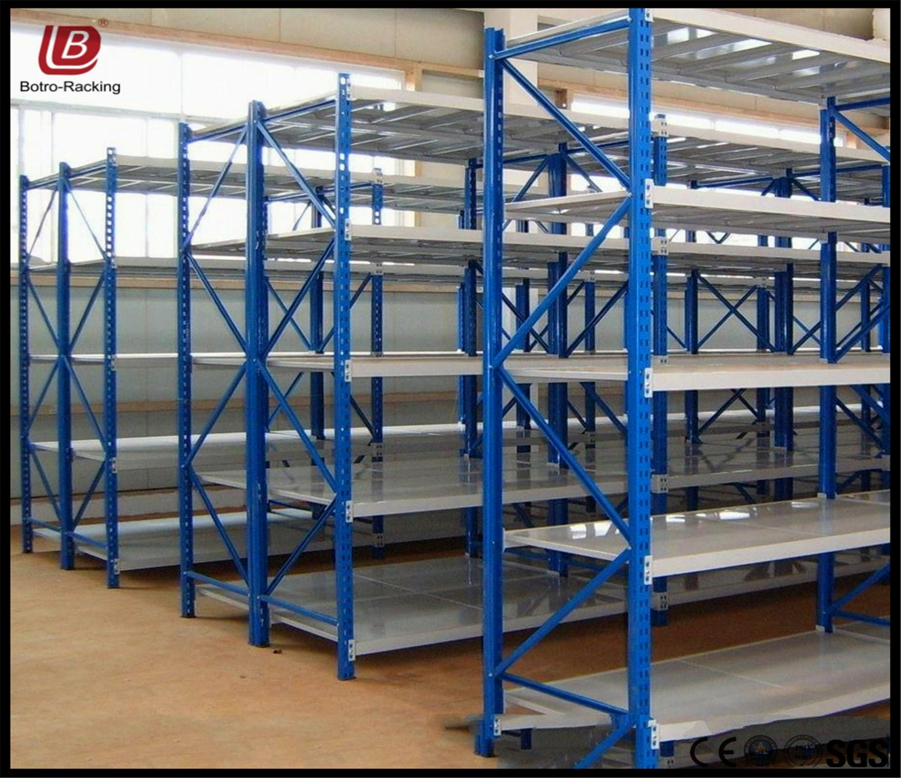 china metal shelving system heavy duty