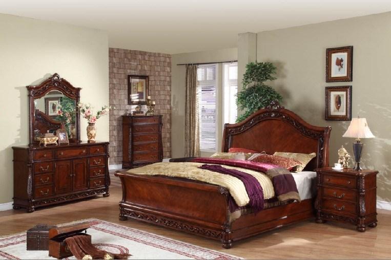 Thomasville Mahogany King Size Bedroom Set