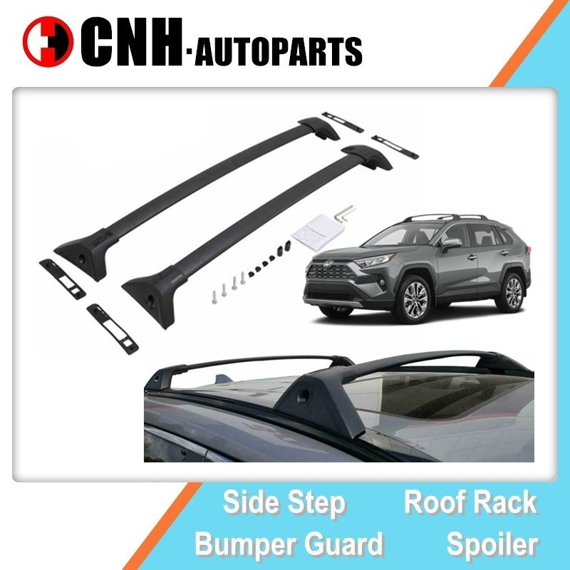 hot item car parts auto accessory oe style roof rack for toyota rav4 2019 2020 limited cross bars