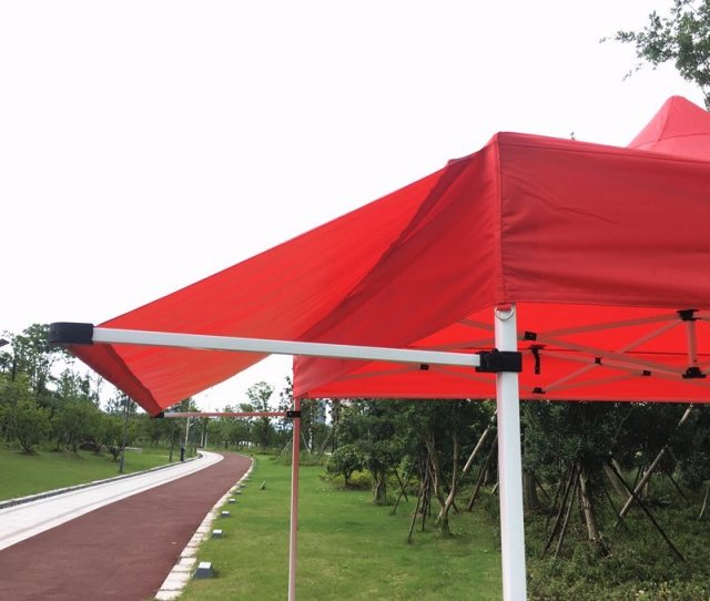 Xm New Design Pop Up Canopy With Awning Flap