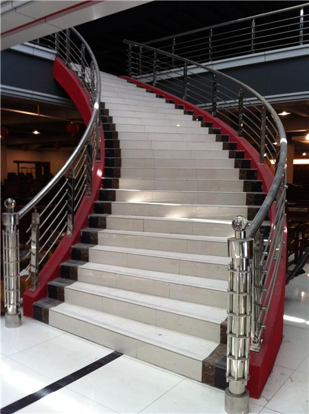 China Modern Railing 304 Stainless Steel Frameless Glass | Modern Stainless Steel Staircase Railing | Modular Steel | Hand | Crystal Handrail | Contemporary | Exterior