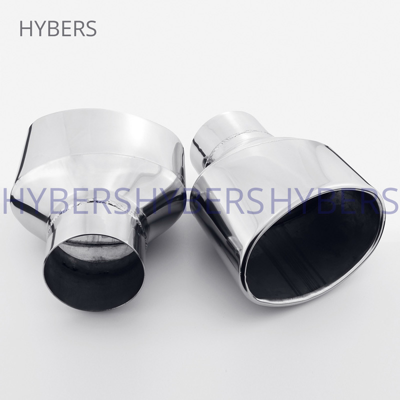 china 3 inch inlet oval out stainless