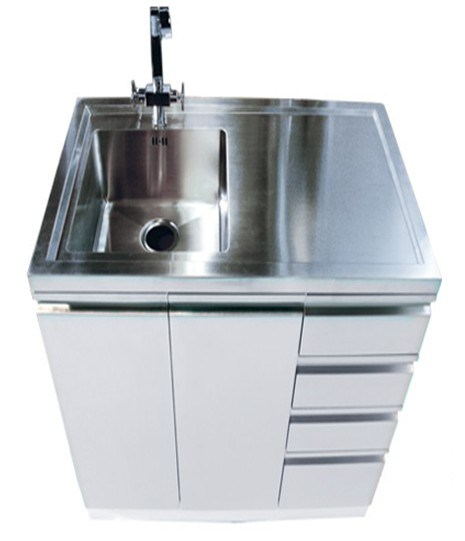 china white stainless steel laundry tub