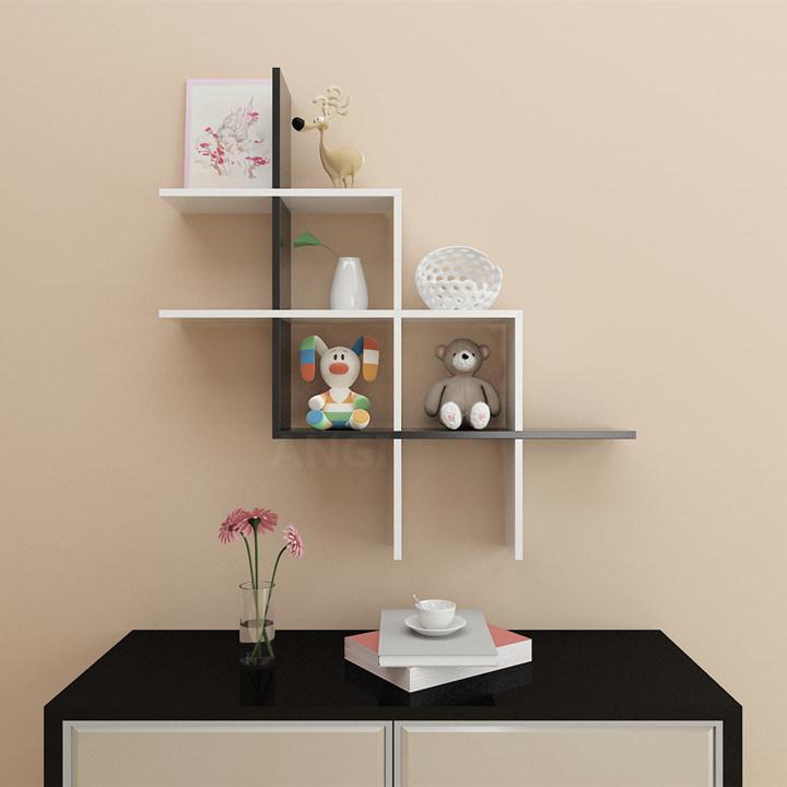 china angi combined wooden wall shelf