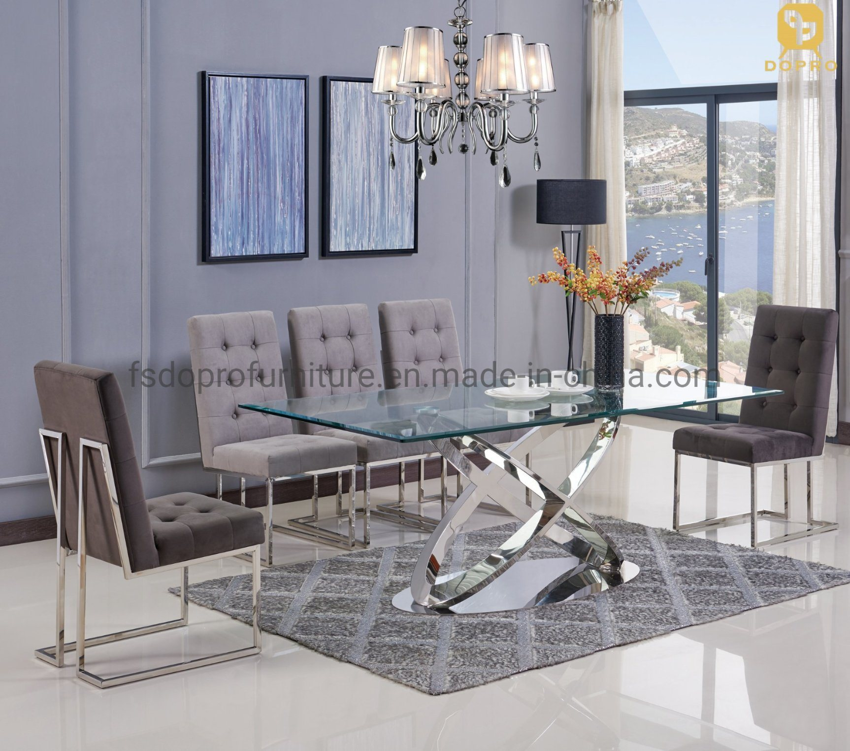 china master design dining room