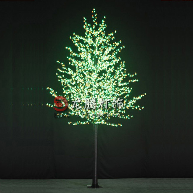 artificial led lighted trees