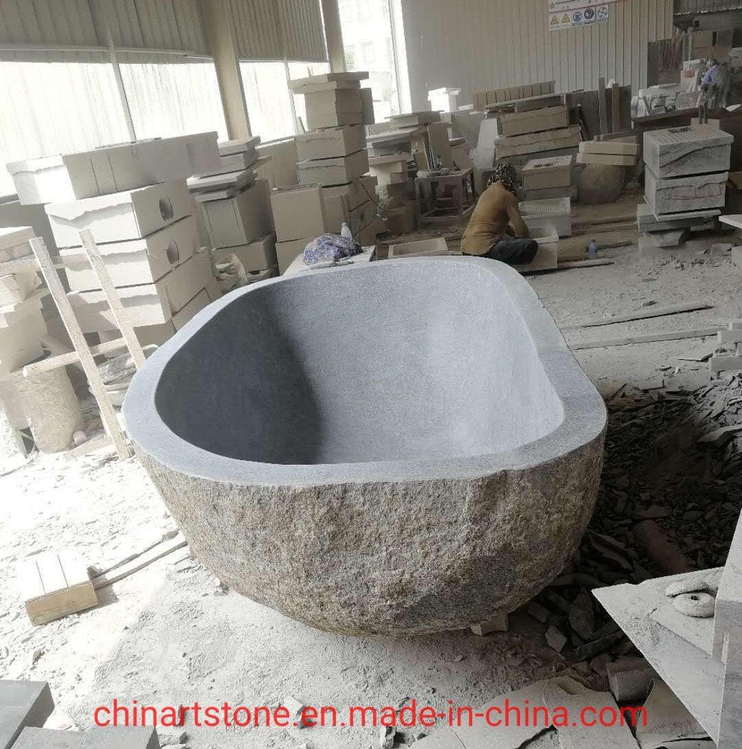 china nature granite or lava stone sink