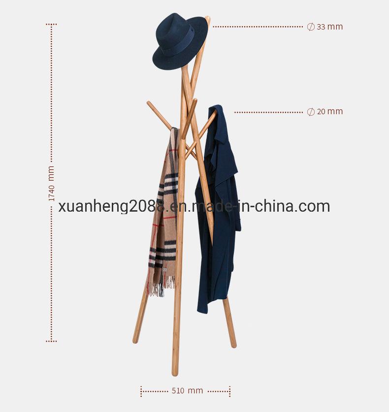 china bamboo garment rack clothes