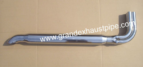 china exhaust side pipes for cobra car