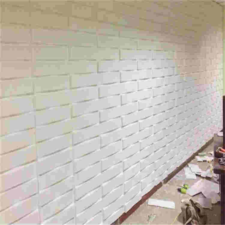 hot item 3d pvc plastic vinyl wall panel board tile sheet manufacturer from china d013