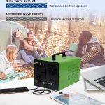 China 3000w Portable Power Station Lithium Rechargeable Battery Backup Power Supply 3kw Solar Generator Photos Pictures Made In China Com