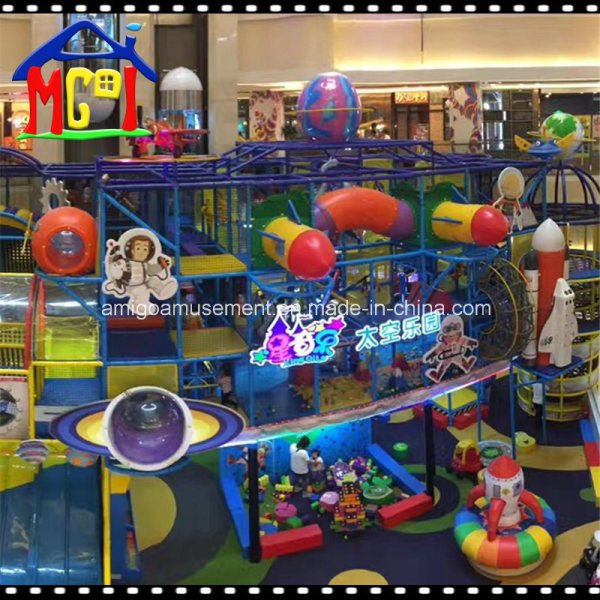 China Kiddie Space Ride Indoor Playground Set Commercial ...