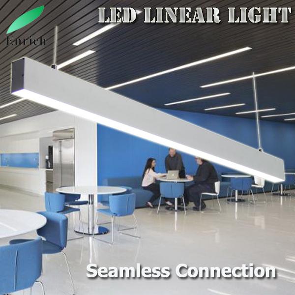 china simple design led linear light