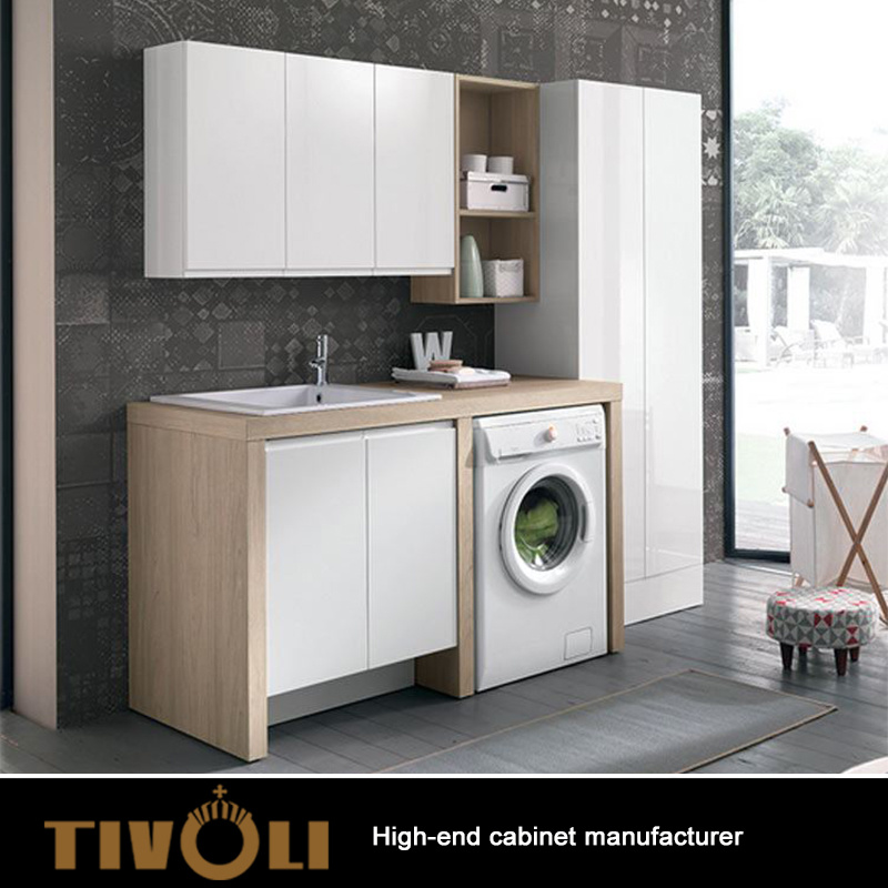China MDF Laundry Cabinet Customized Design for Wholesale ... on Laundry Cabinets  id=26515