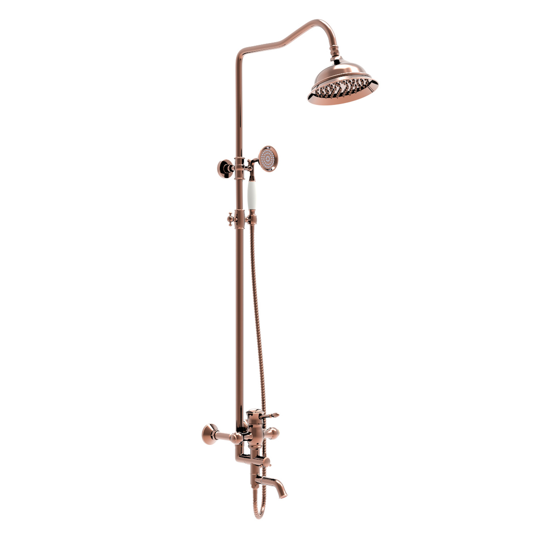 china brass bathroom shower faucet set