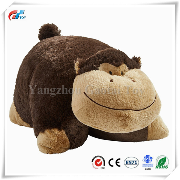 hot item silly stuffed monkey pillow plush pet